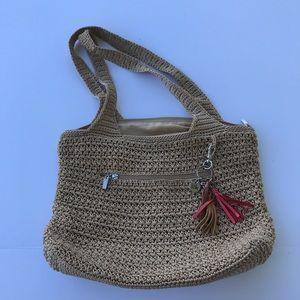 The Sak, crochet, macrame purse